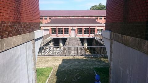 旧三河島汚水処分場喞筒場施設
