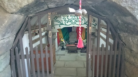 目黒にある洞窟!蟠龍寺の魅力的な岩屋弁財天