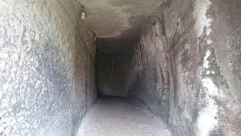 岩谷観音堂,富津市,磨崖仏群,洞窟