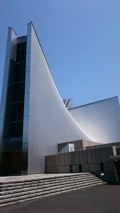 ルルドの洞窟 東京カテドラル聖マリア大聖堂