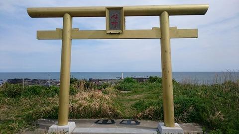 秋刀魚 鰯 鯛 魚の形をした変わった鳥居/銚子 長九郎稲荷 ちょぼくり稲荷