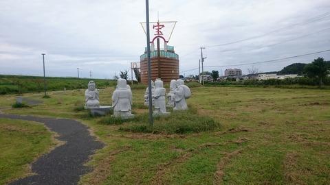 七福神と宝船!そこは夢のワンダーランド!成田 下総利根宝船公園