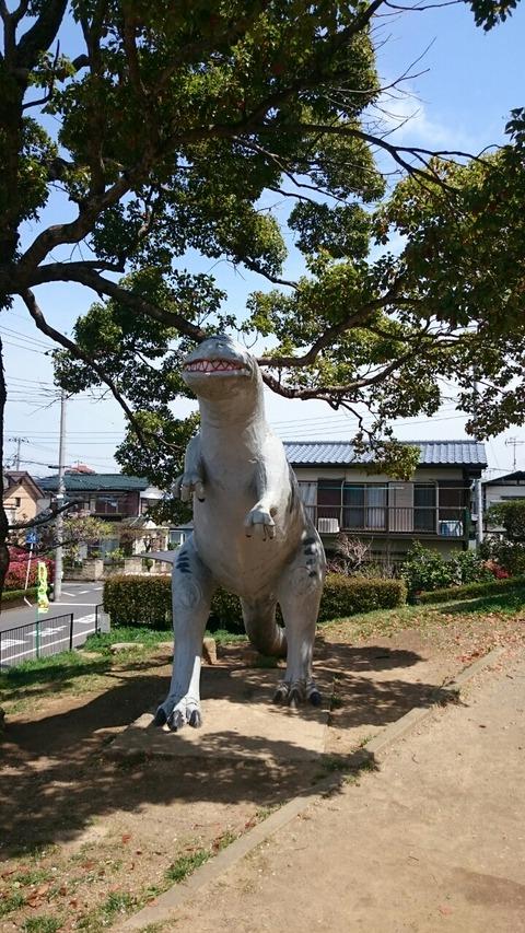 ジュラシックパーク 恐竜のいる公園/流山「怪獣公園」