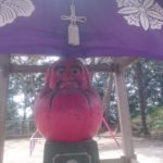 珍しい真っ赤な達磨がひっそりと鎮座する寺/松戸市「幸谷観音」