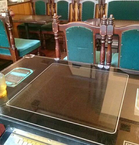 松戸新田 昭和レトロなテーブル筐体のある喫茶店「潤」