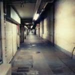 まるで異世界への入り口…謎の通路「西銀座JRセンター」