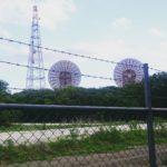 謎の巨大パラボラアンテナ/府中トロポサイト