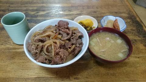 【市場飯】千住の魚河岸 足立市場の「しいはし食堂」の牛丼【朝飯】