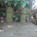 生殖器崇拝/柏にある伊津美神社に鎮座する男根の石仏