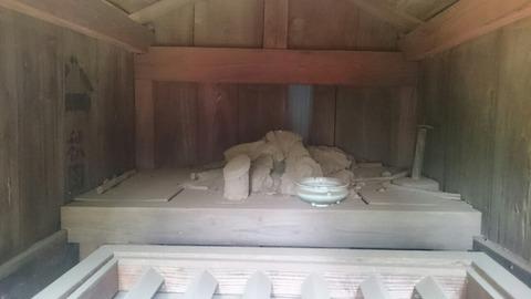 【取手】生殖器崇拝/旧法海寺の朽ち果てた金精神