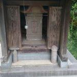 生殖器崇拝/守谷の石神神社に鎮座する男根の石仏