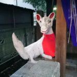 ハンドメイド感が半端ない狐や蛇や龍を祀る「上神明天祖神社」