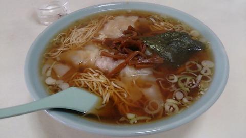 【B級グルメ・町中華】銚子の台所/大塚商店/巨大シューマイにワンタン麺