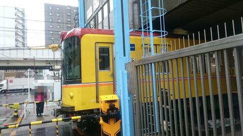 上野/日本国内唯一?地下鉄に踏切! ? /銀座線「地下鉄専用踏切」
