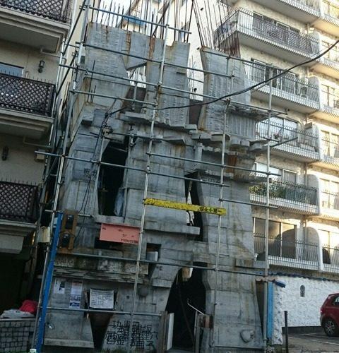【港区】三田のガウディが作る…セルフビルド建築アリマストンビル