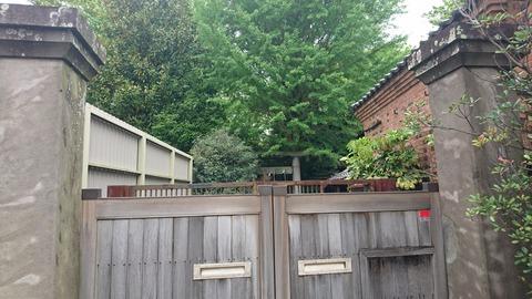 【松戸市】松戸宿…春雨橋周辺の街並み…福岡家住宅から除く謎の鳥居
