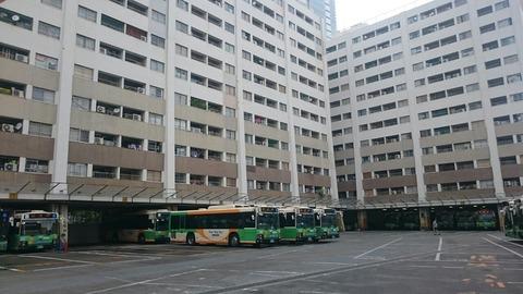 【品川区】1階が都営バスの車庫になっている都営北品川アパート