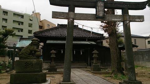 松戸/松戸にあった遊郭の足跡…平潟神社と平潟遊郭跡…
