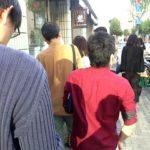 【中央区】噂の行列店…銀座 新世界グリル梵のビーフヘレカツサンド…
