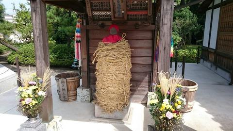 【葛飾区】南蔵院にある大岡裁きによって縛られた地蔵「しばられ地蔵」