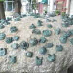 【台東区】浅草 トライポフォビア感じる「石の舟」