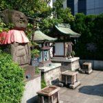 【中央区】銀座三越の銀座テラスに祀られた「銀座出世地蔵尊」