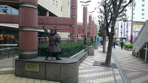 【北区】赤羽西口駅前に祀られた赤羽七福神
