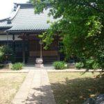 【松戸】「上本郷の七不思議」本福寺の切られ地蔵
