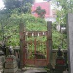 【台東区】入谷にある小野照崎神社にある下谷坂本の富士塚