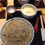 【台東区】上野 喜乃字屋のフォアグラ蕎麦…