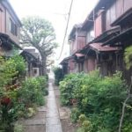 【品川区】「北品川の古い民家の家並み」しながわ百景