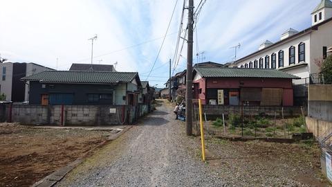 【松戸】宿場町…北小金…裏路地に覗く…昭和の街並み…