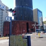 【港区】謎の建築…楕円形のランドマーク「ノアビル」