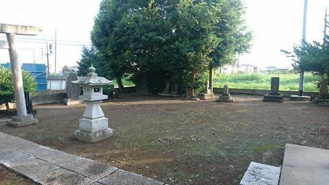 【取手】威風堂々いきり立つ男根の神とTOO MUCH PAIN …「熊野神社」
