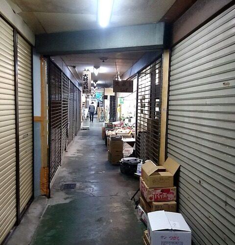 【板橋区】志村坂上…昭和の穴蔵ビル…「第一ストア」